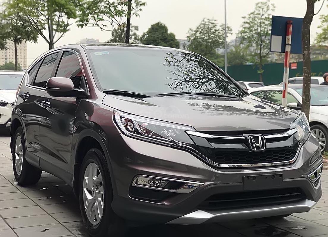 Bán ô tô Honda CR V 2.0 AT đời 2015, màu xám số tự động-0