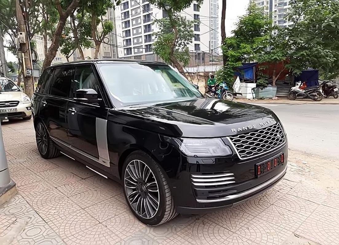 Cần bán xe LandRover Range Rover Autobiography đời 2019, màu đen, nhập khẩu nguyên chiếc-0