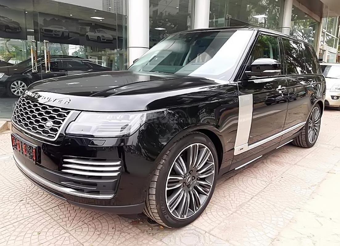 Cần bán xe LandRover Range Rover Autobiography đời 2019, màu đen, nhập khẩu nguyên chiếc-3
