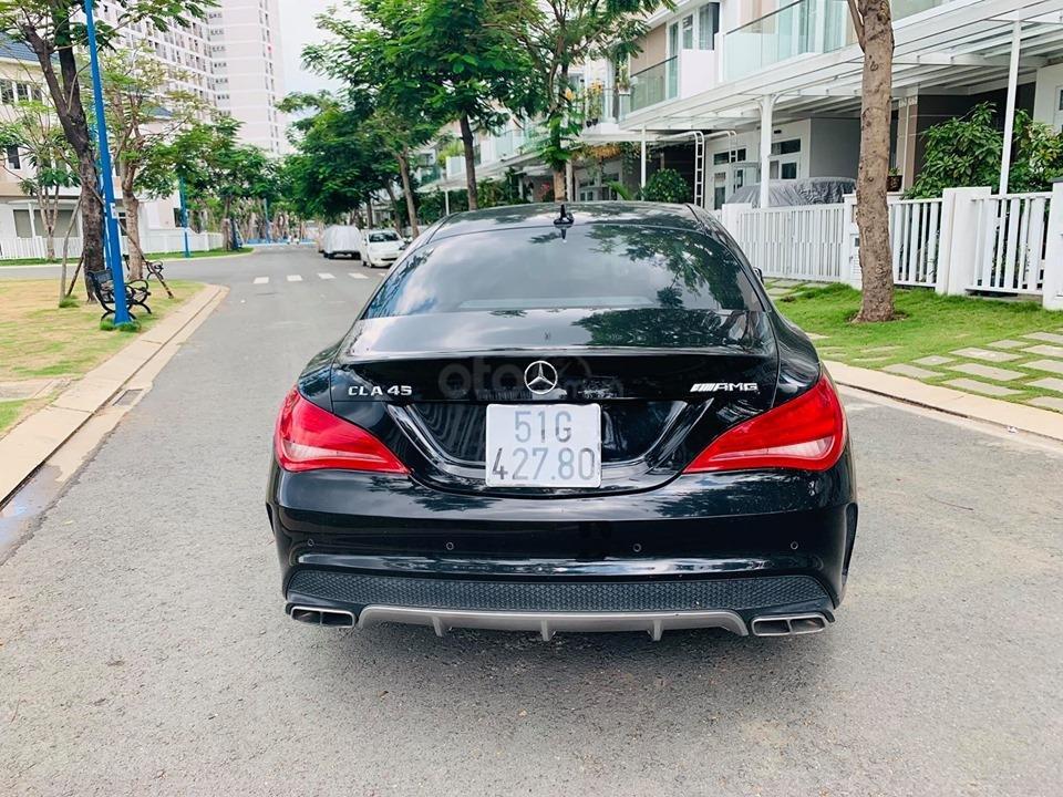 Bán xe Mercedes CLA45 AMG đen model 2015, trả trước 450 triệu, nhận xe ngay-6