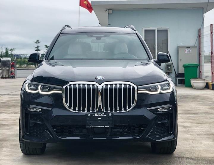 Giá lăn bánh BMW X7 2019 nhập khẩu lên tới gần 8 tỷ đồng, hơn nhiều so với giá đặt cọc.