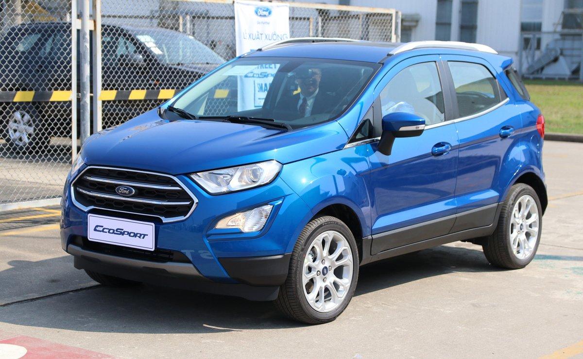 Ford EcoSport 2020 ngoại thất màu xanh