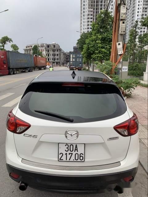 Bán Mazda CX 5 năm sản xuất 2014, màu trắng, giá chỉ 700 triệu-2