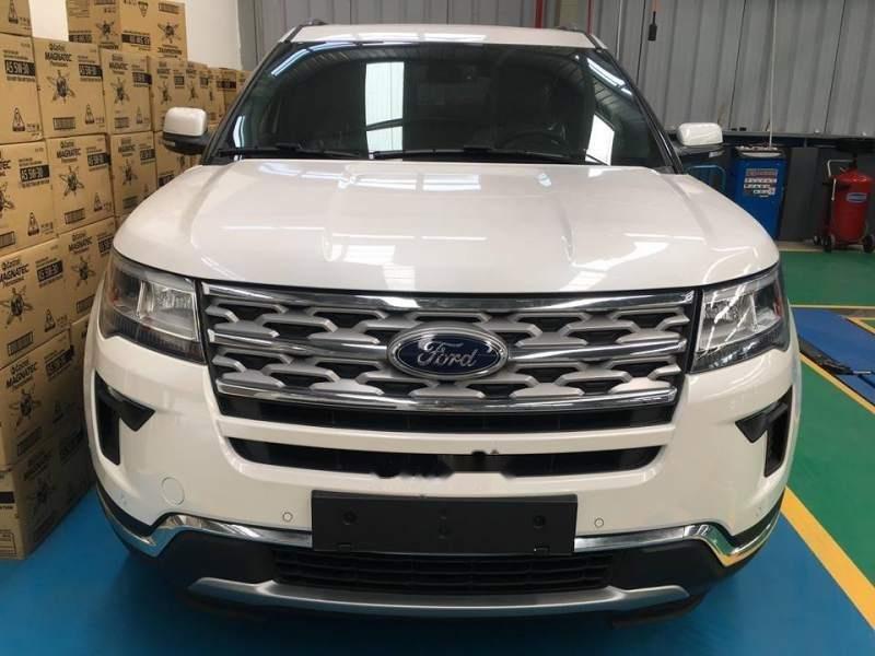 Cần bán xe Ford Explorer sản xuất 2019, màu trắng, nhập khẩu-0