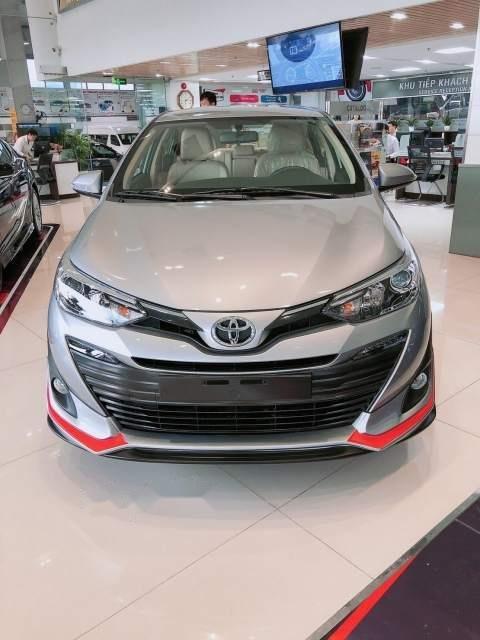 Bán Toyota Vios năm sản xuất 2019, màu bạc-2