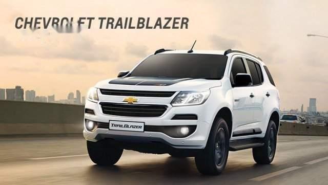 Bán Chevrolet Trailblazer 2019, màu trắng, nhập khẩu-0