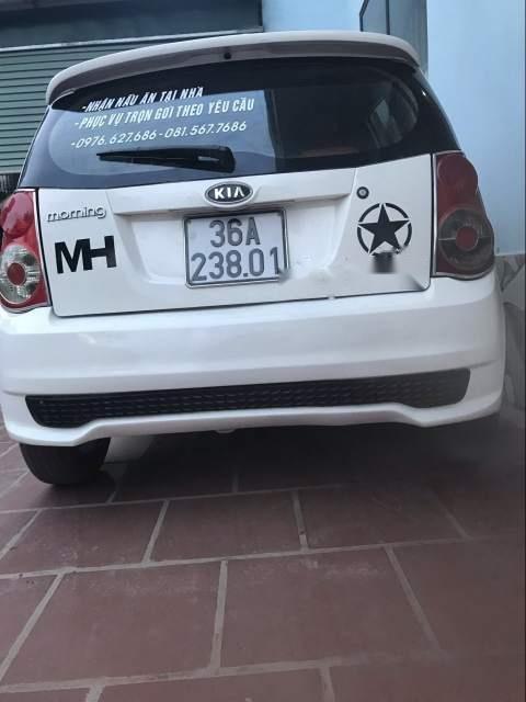 Bán Kia Morning Van đời 2012, màu trắng xe gia đình-2