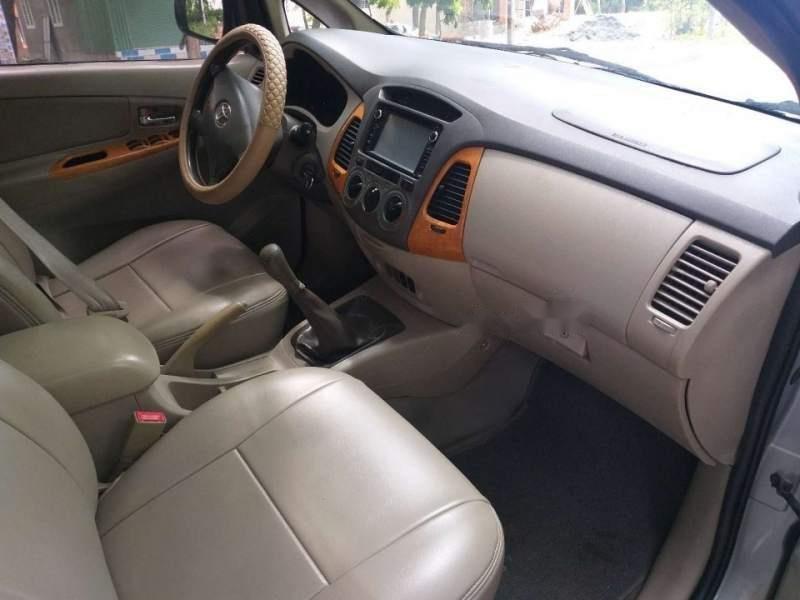 Bán Toyota Innova G sản xuất 2009, màu bạc chính chủ (6)