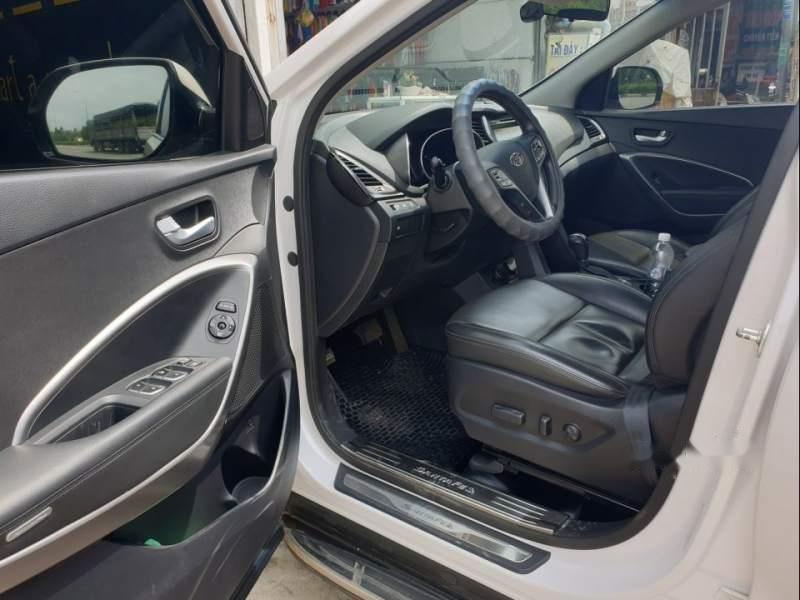 Cần bán gấp Hyundai Santa Fe sản xuất năm 2015, màu trắng-3