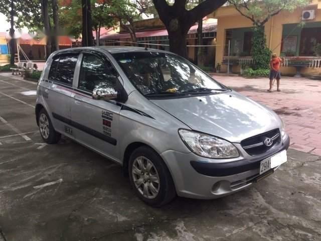 Cần bán Hyundai Getz 2011, màu bạc, nhập khẩu-1
