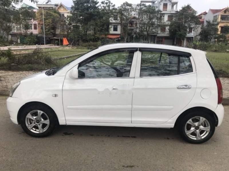 Bán ô tô Kia Morning đời 2007, màu trắng, nhập khẩu như mới-0