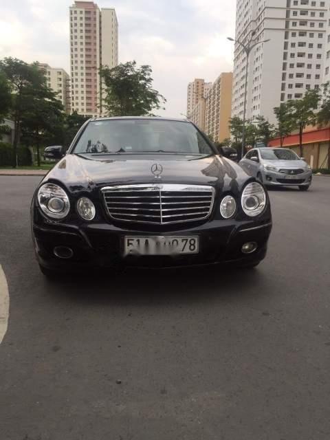 Bán Mercedes E280 năm 2008, màu đen, nhập khẩu xe gia đình-0