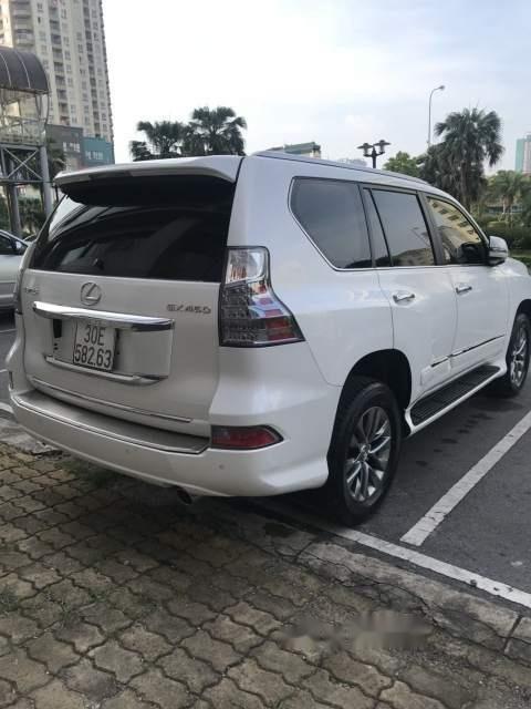 Cần bán lại xe Lexus GX 450 năm sản xuất 2015, màu trắng, nhập khẩu-1