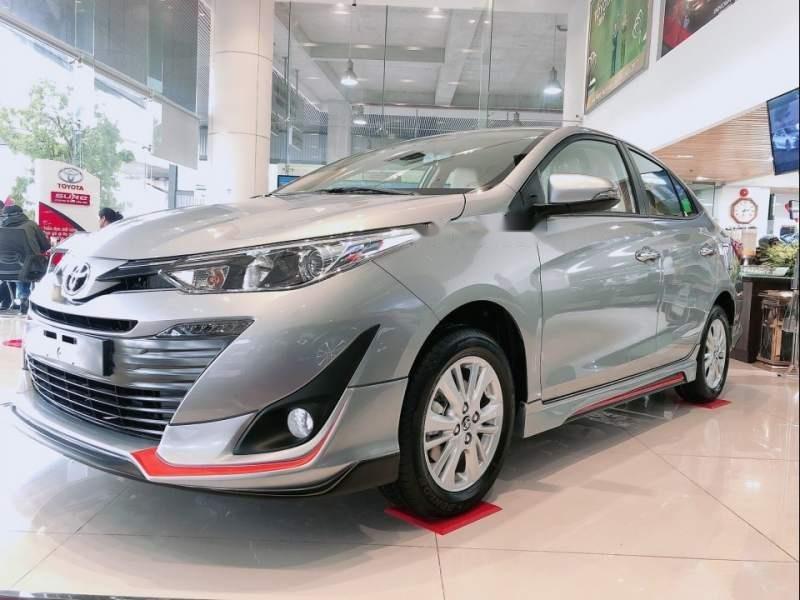 Bán Toyota Vios năm sản xuất 2019, màu bạc-5