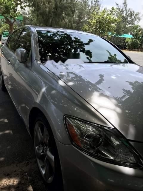Cần bán gấp Lexus GS GS 350 đời 2007, màu bạc, nhập khẩu nguyên chiếc, giá chỉ 730 triệu-0