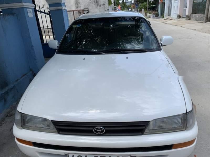 Cần bán gấp Toyota Corolla altis 1996, màu trắng, nhập khẩu-1