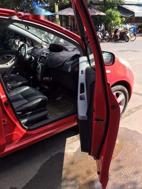 Bán xe Toyota Yaris năm 2008, màu đỏ, nhập khẩu số tự động, giá tốt-3