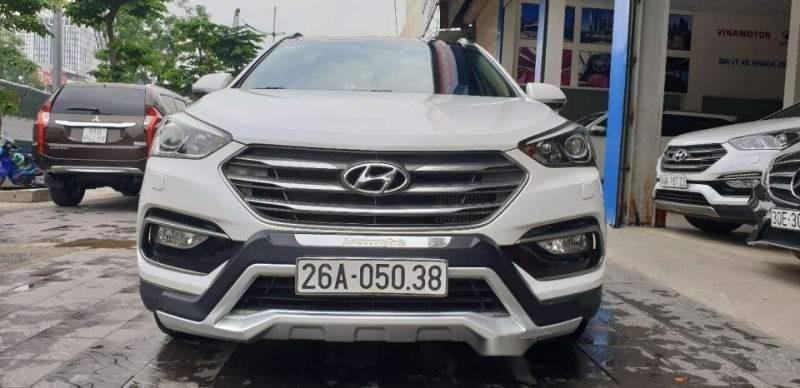 Bán Hyundai Santa Fe 2016, màu trắng chính chủ-0