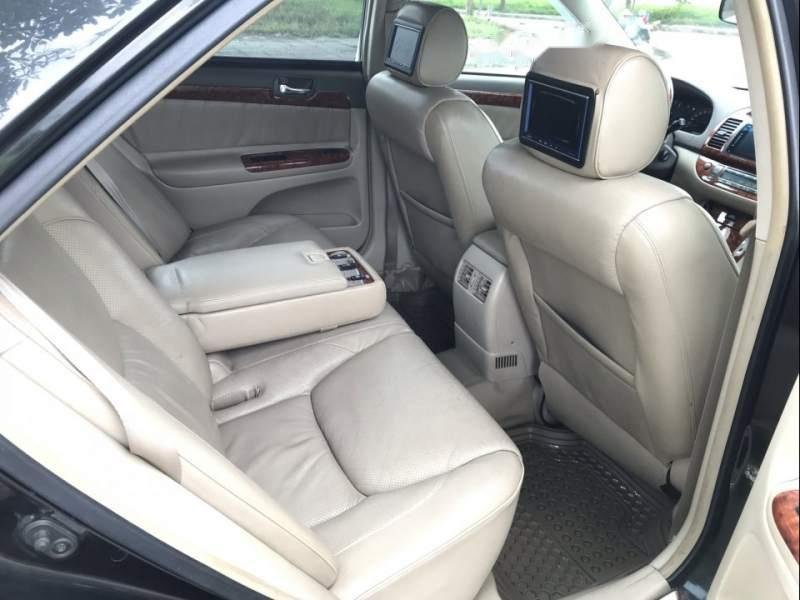 Cần bán xe Toyota Camry 3.0AT năm 2003, màu đen chính chủ (6)