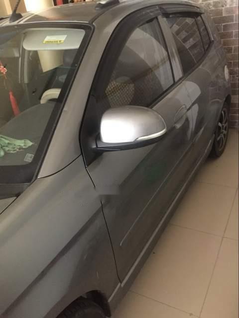 Bán Kia Morning năm sản xuất 2012, màu xám giá cạnh tranh-3