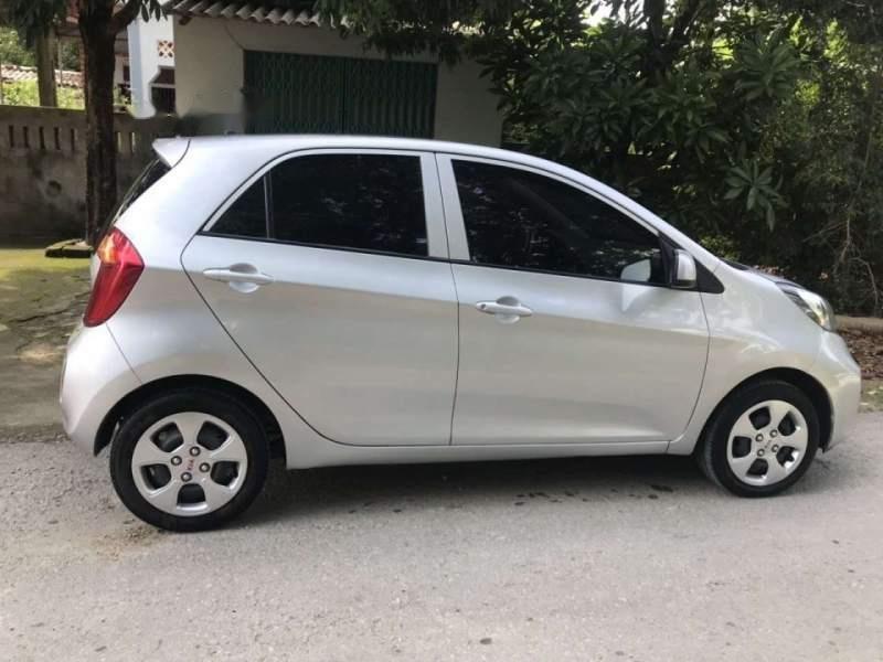 Bán xe Kia Morning năm 2015, màu bạc-0