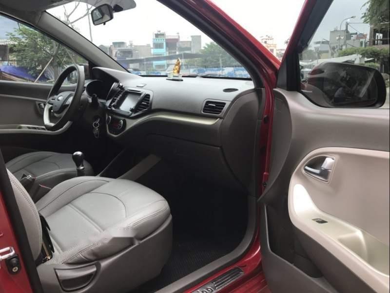 Bán ô tô Kia Morning Si 1.25 sản xuất 2017, màu đỏ chính chủ (6)
