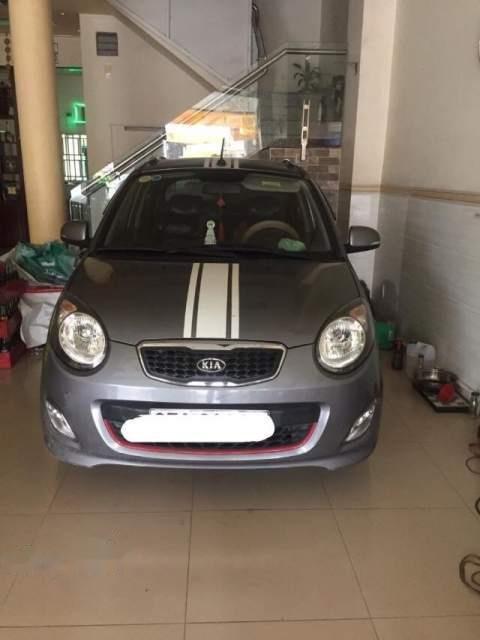 Bán Kia Morning năm sản xuất 2012, màu xám giá cạnh tranh-0