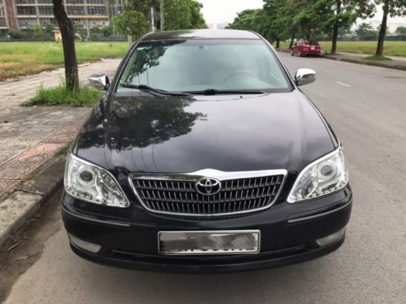 Cần bán xe Toyota Camry 3.0AT năm 2003, màu đen chính chủ (3)