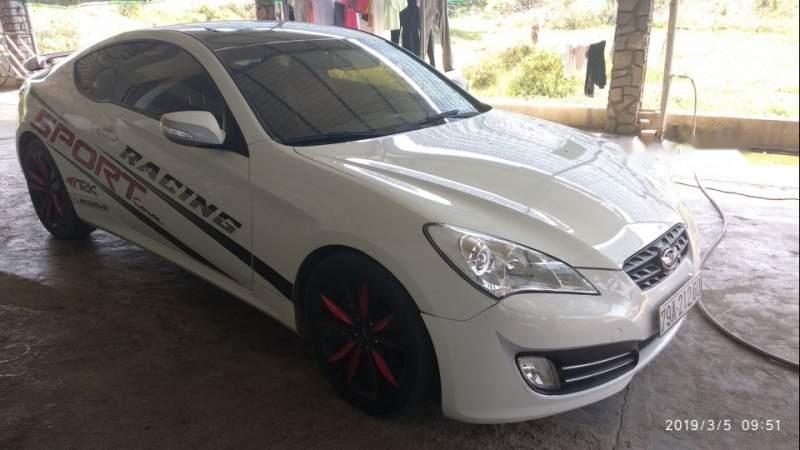 Bán Hyundai Genesis sản xuất năm 2011, màu trắng, giá 520tr-0