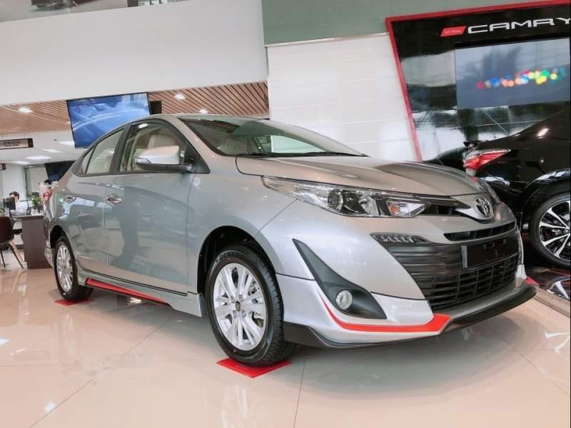 Bán Toyota Vios năm sản xuất 2019, màu bạc-4