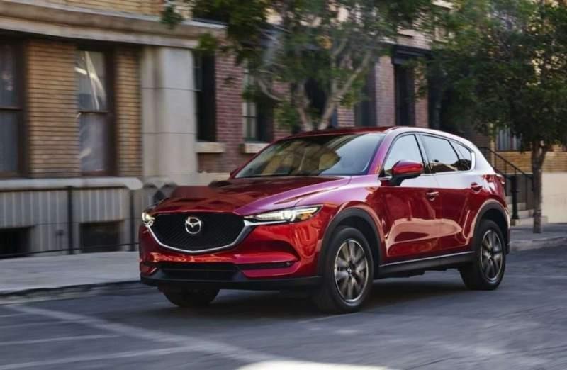 Bán ô tô Mazda CX 5 năm sản xuất 2017, màu đỏ, giá tốt-0