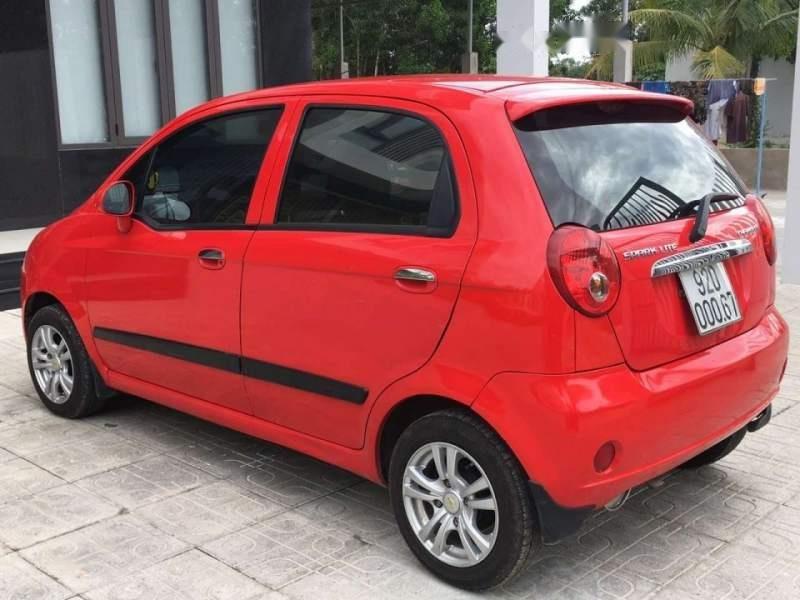 Cần bán gấp Chevrolet Spark đời 2015, màu đỏ, nhập khẩu, giá chỉ 160 triệu-5