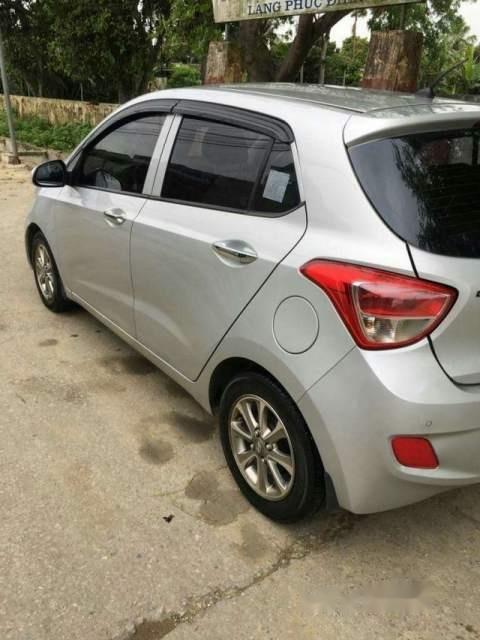Cần bán Hyundai Grand i10 2015, màu bạc, nhập khẩu, 287tr-1