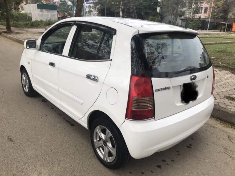 Bán ô tô Kia Morning đời 2007, màu trắng, nhập khẩu như mới-4