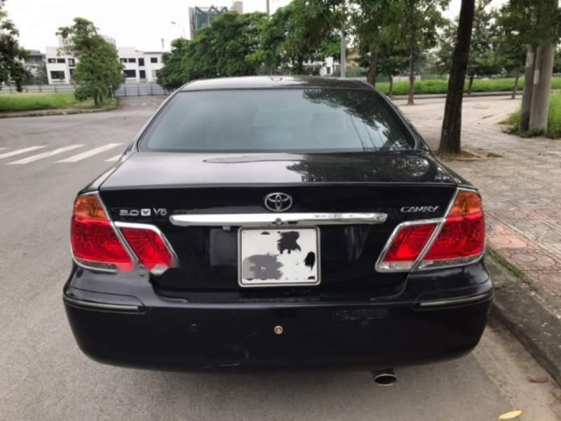 Cần bán xe Toyota Camry 3.0AT năm 2003, màu đen chính chủ (4)