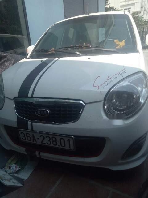 Bán Kia Morning Van đời 2012, màu trắng xe gia đình-0