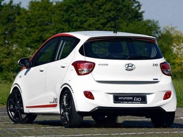 Bán Hyundai Grand i10 năm sản xuất 2018, màu trắng-3