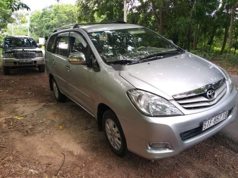 Bán Toyota Innova G sản xuất 2009, màu bạc chính chủ (3)