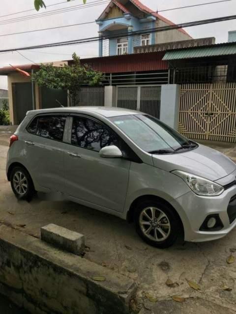 Cần bán Hyundai Grand i10 2015, màu bạc, nhập khẩu, 287tr-2