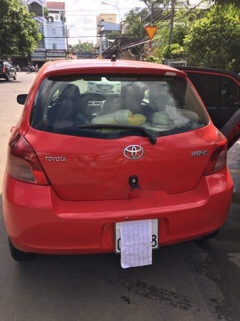 Bán xe Toyota Yaris năm 2008, màu đỏ, nhập khẩu số tự động, giá tốt-1