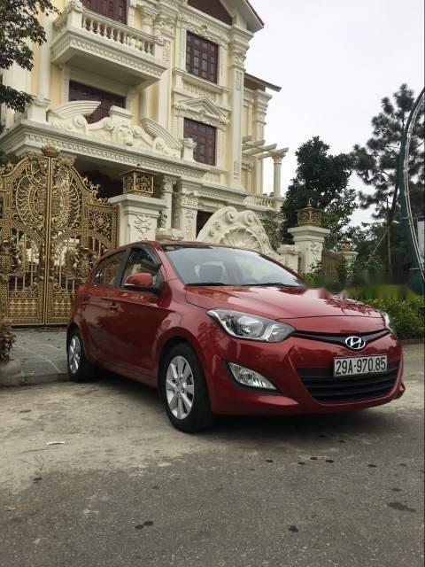 Bán Hyundai i20 năm sản xuất 2013, màu đỏ, nhập khẩu nguyên chiếc-3
