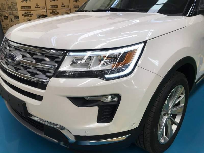 Cần bán xe Ford Explorer sản xuất 2019, màu trắng, nhập khẩu-1