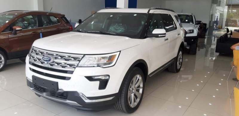 Cần bán xe Ford Explorer sản xuất 2019, màu trắng, nhập khẩu-3