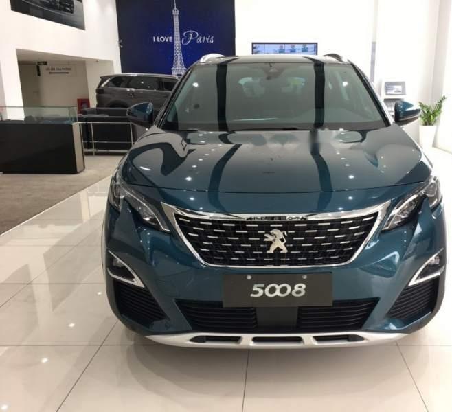 Cần bán Peugeot 5008 năm 2019, màu xanh -0
