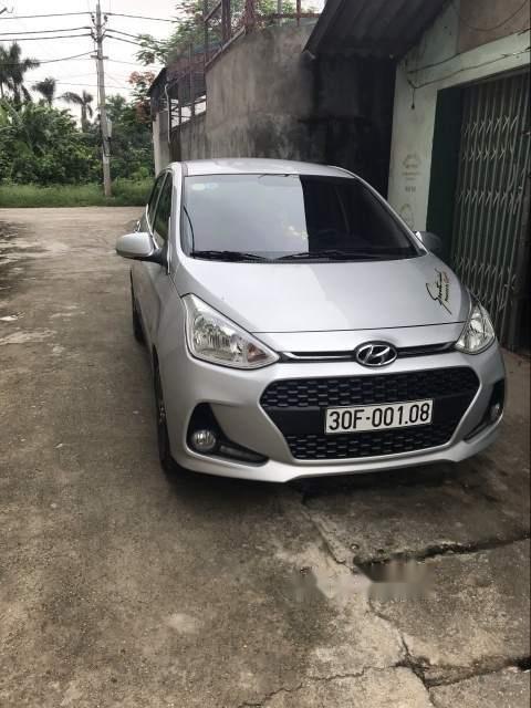 Bán ô tô Hyundai Grand i10 sản xuất 2018, màu bạc, nhập khẩu nguyên chiếc chính chủ-1