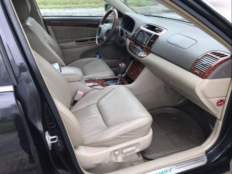 Cần bán xe Toyota Camry 3.0AT năm 2003, màu đen chính chủ (5)