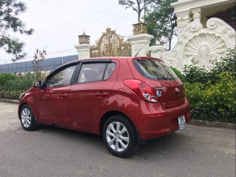 Bán Hyundai i20 năm sản xuất 2013, màu đỏ, nhập khẩu nguyên chiếc-4