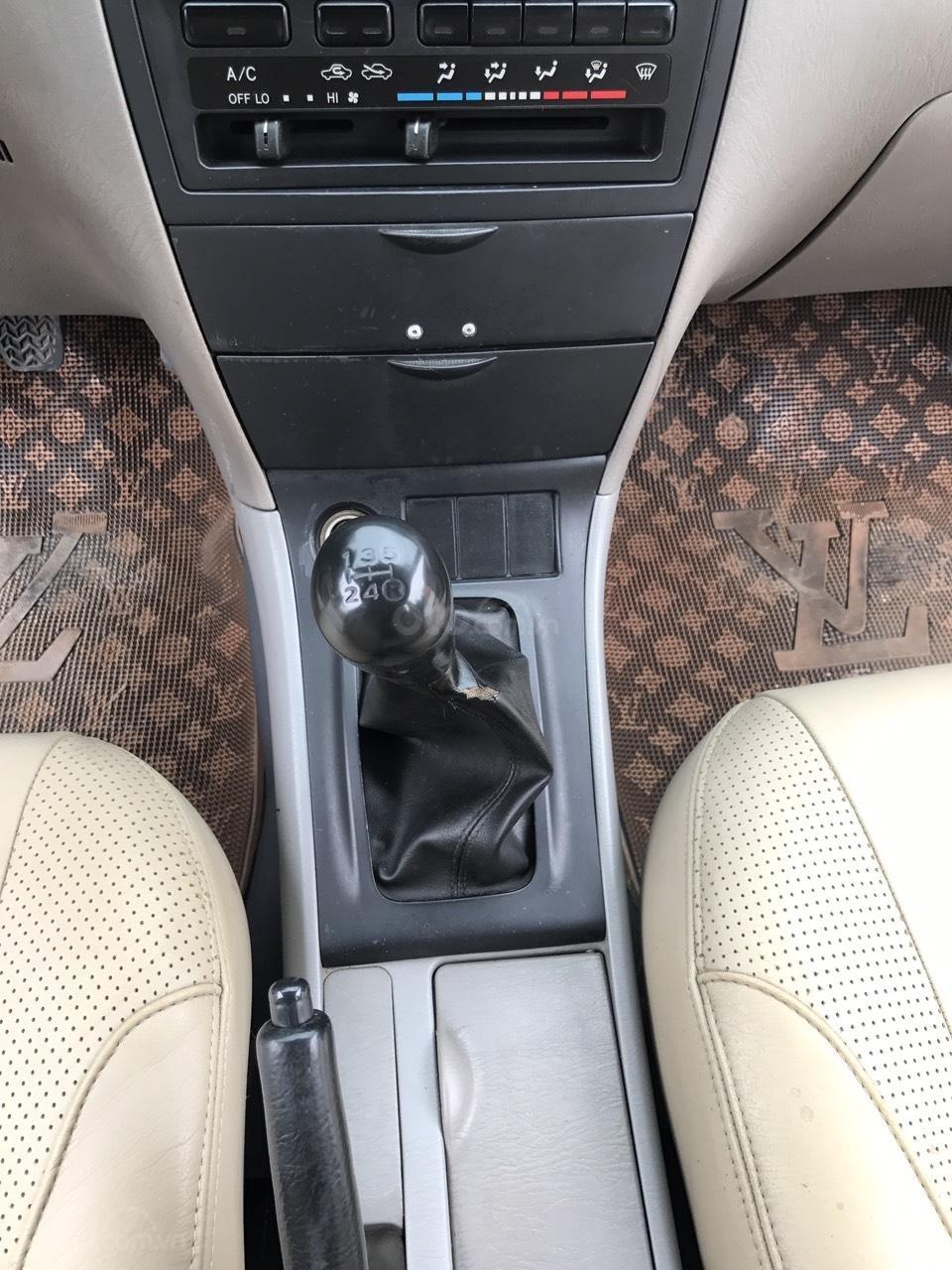 Cần bán xe Toyota Corolla altis 1.8G đời 2003, màu đen. Chính chủ cực chất lượng-16