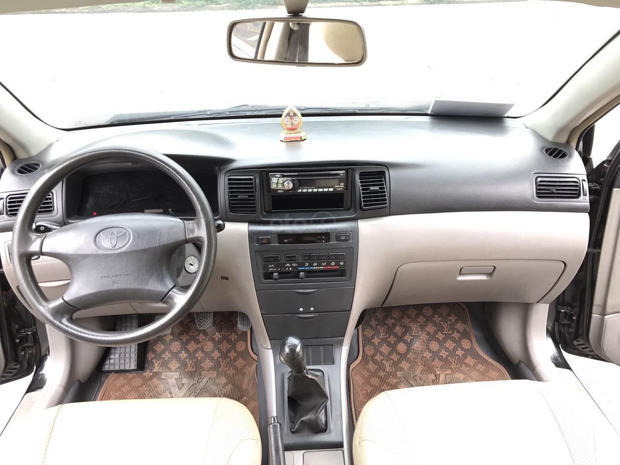 Cần bán xe Toyota Corolla altis 1.8G đời 2003, màu đen. Chính chủ cực chất lượng-4
