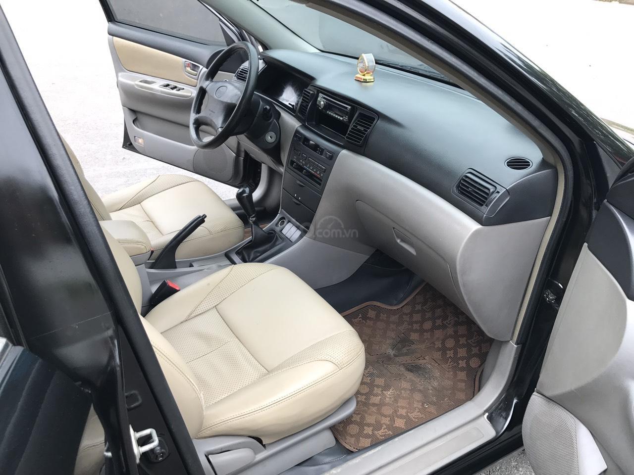 Cần bán xe Toyota Corolla altis 1.8G đời 2003, màu đen. Chính chủ cực chất lượng-6